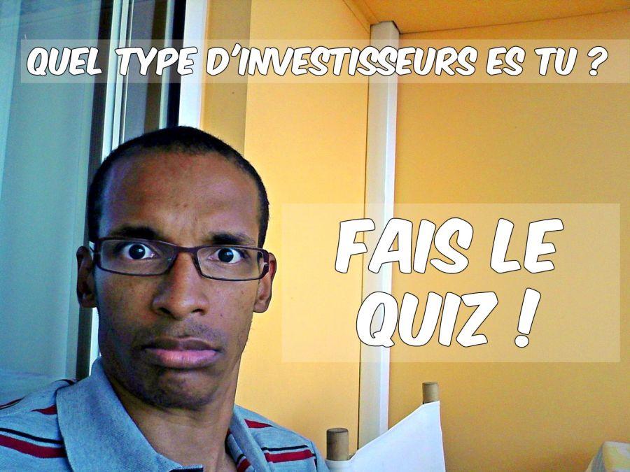 Type d'investisseur le quiz