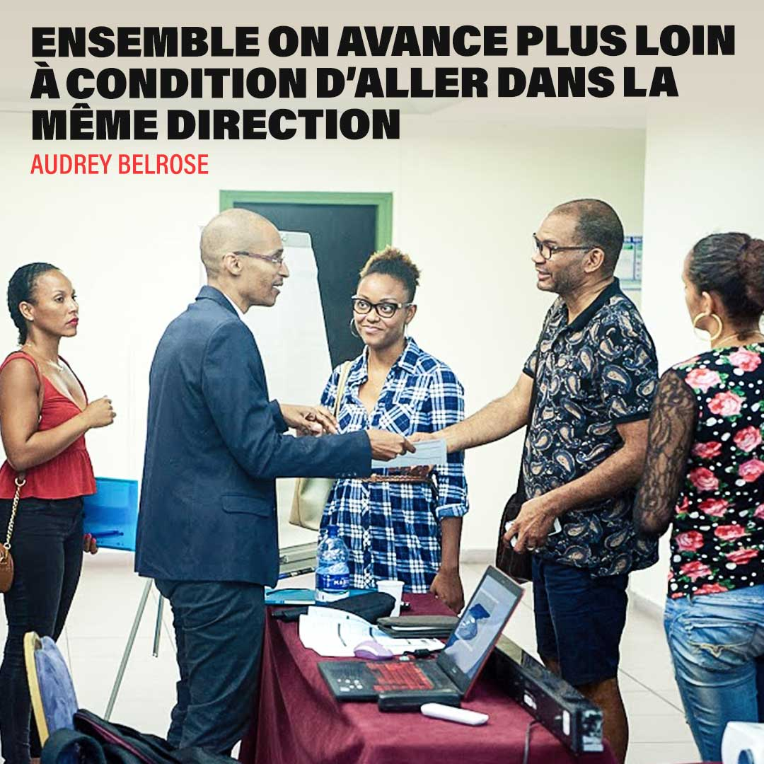 ensemble on avance plus vite si on va dans la même direction