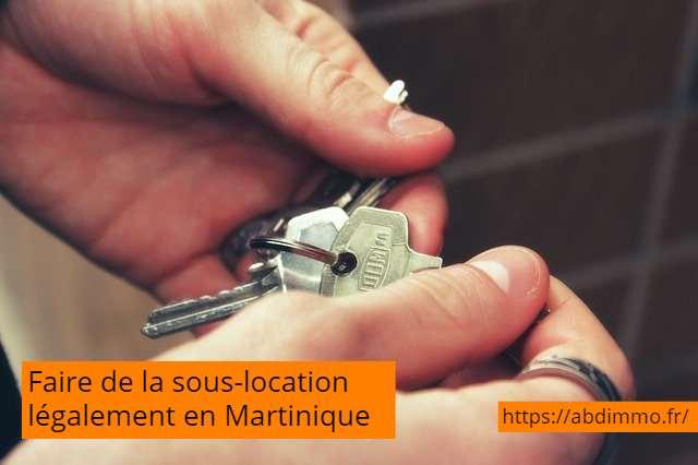 faire de la sous-location en Martinique